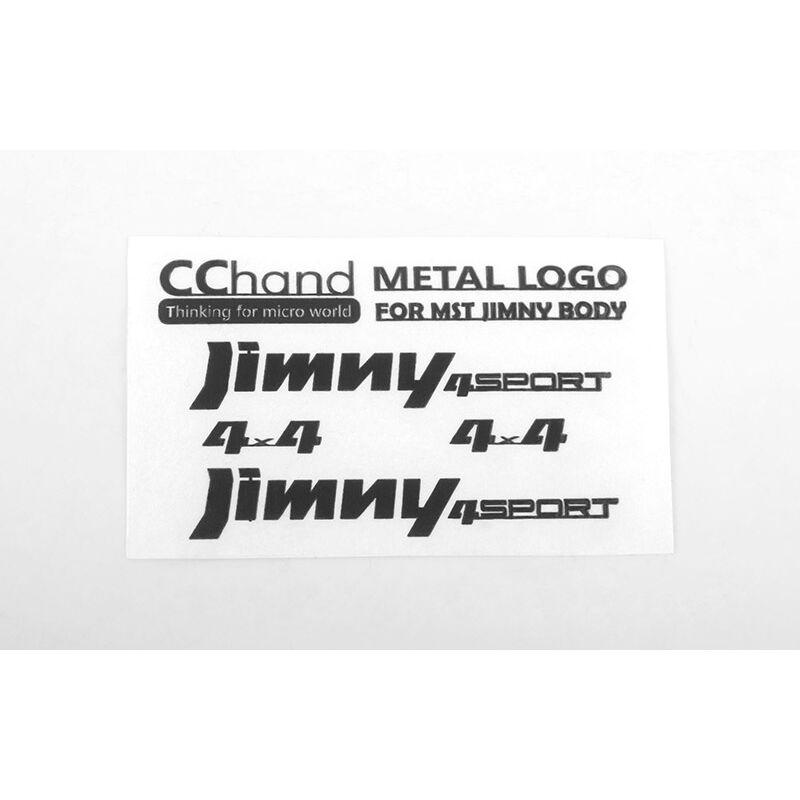 Metal Emblems: MST 1/10 CMX with Jimny J3 Body, Black