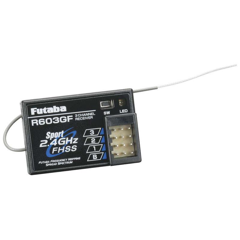 R603GF 3-Channel FHSS Receiver