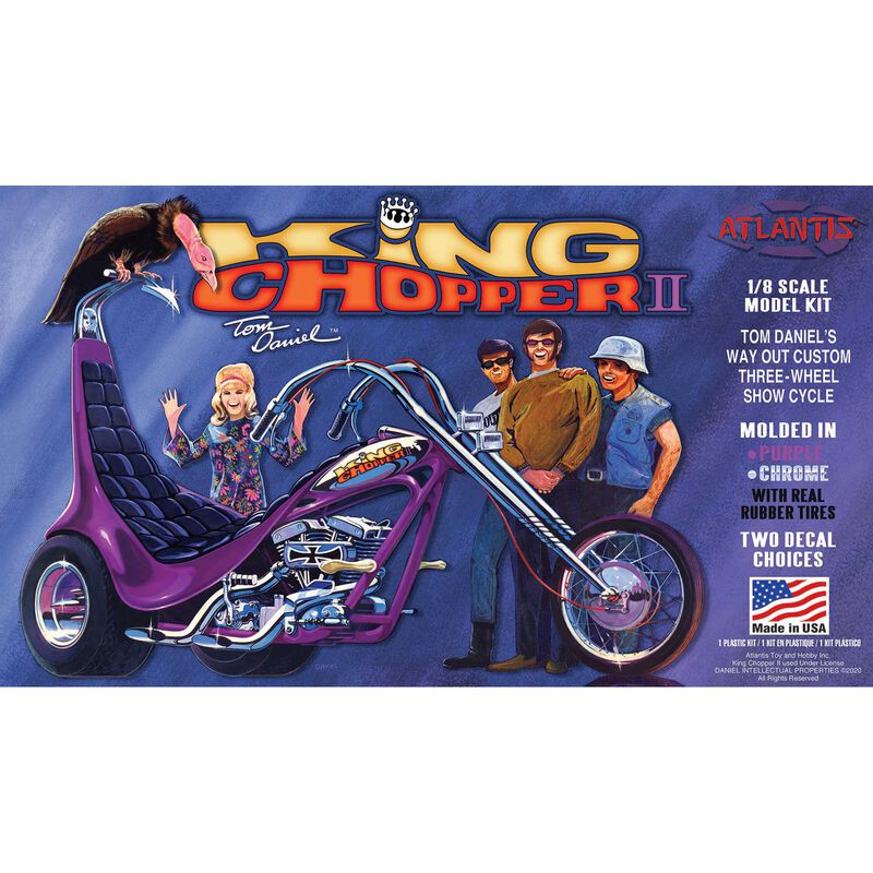 Tom Daniel King Chopper II 1/8 Plastic Model Trike