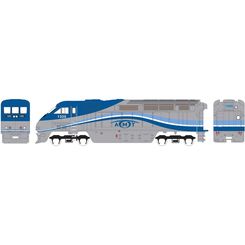 N F59PHI with DCC & Sound AMTL #1326