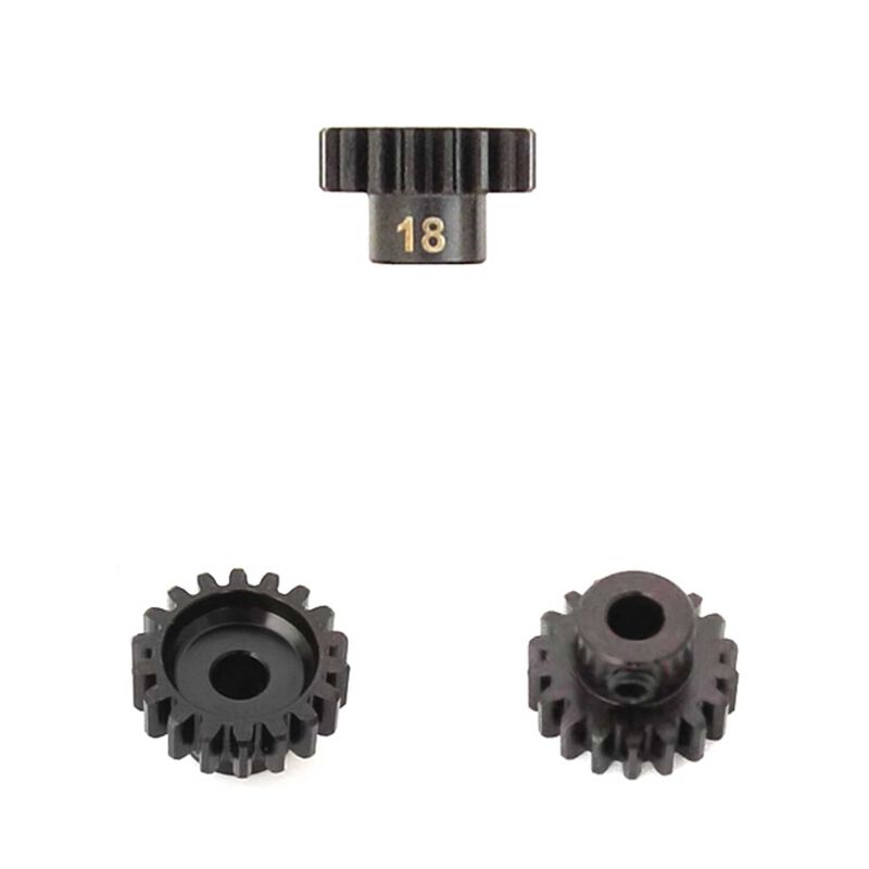 M5 Pinion Gear, 18T,  MOD1, 5mm Bore, M5 Set Screw