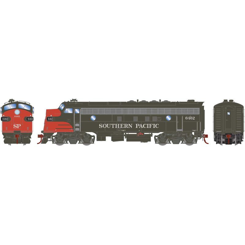 HO FP7A with DCC & Sound SP Bloody Nose #6462