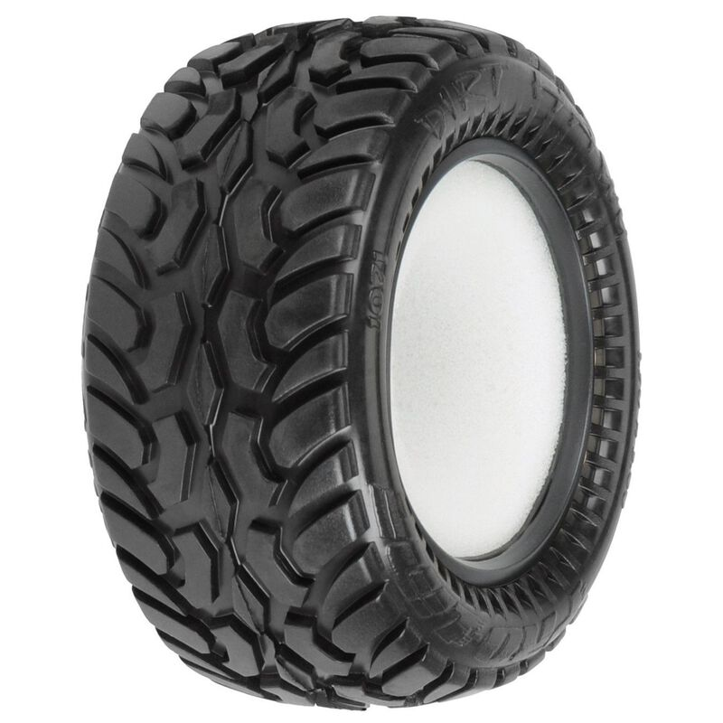 "Dirt Hawg I 2.2"" M2 All Terrain Buggy Rear Tires"