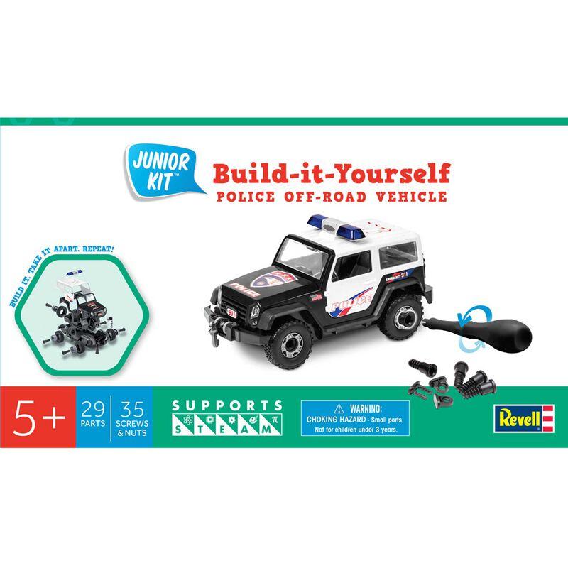 Police Off Road Vehicle Junior Kit
