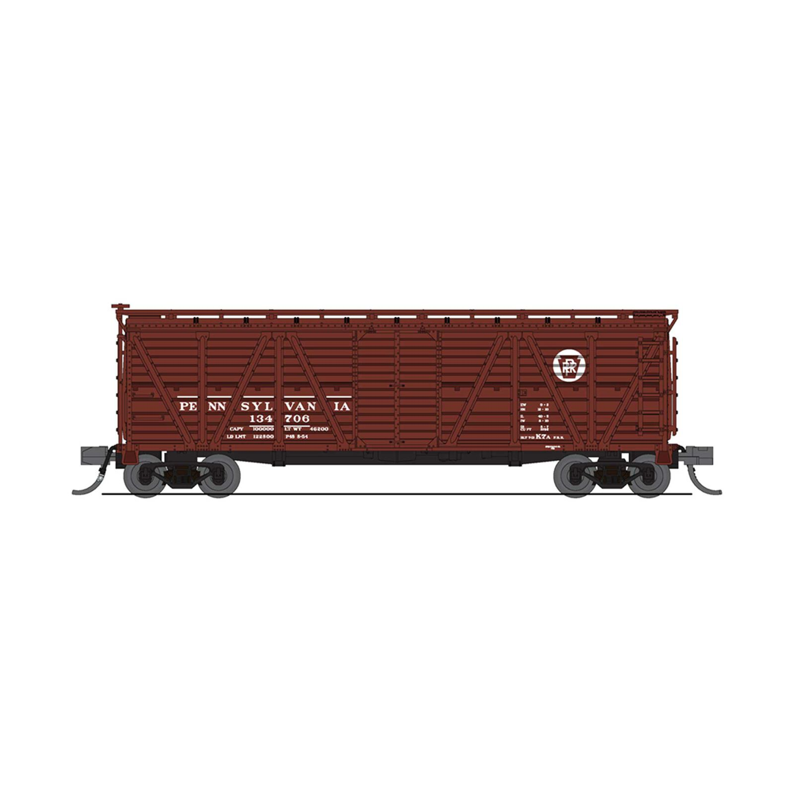 N Cattle Sounds Stock Car, PRR