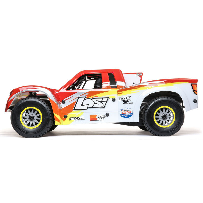 1/6 Super Baja Rey 4WD Desert Truck Brushless RTR with AVC, Red