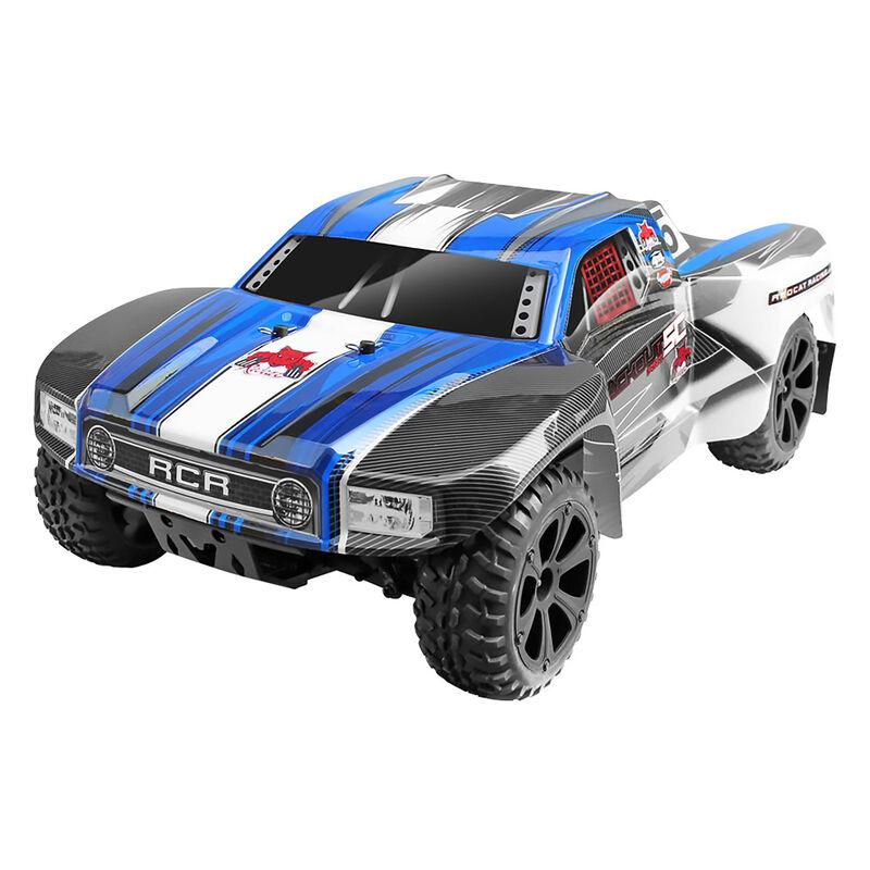 1/10 Blackout SC Pro 4WD Short Course Truck Brushless RTR, Blue