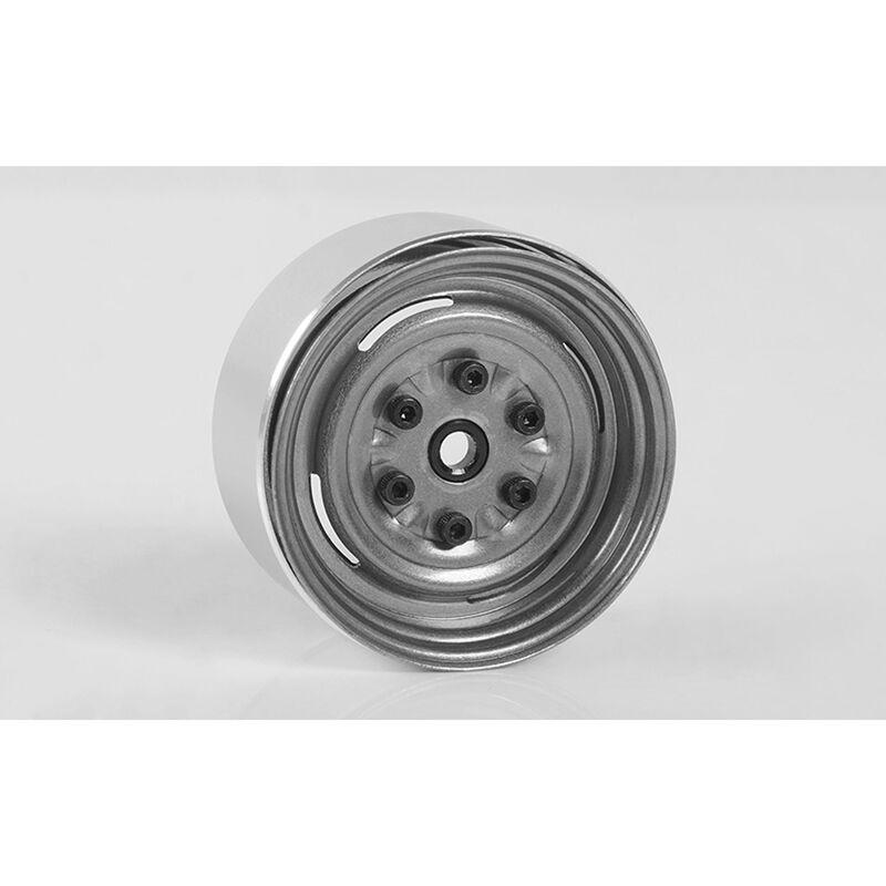 "Vintage Yota 6 Lug SS 1.55"" Clear Beadlock Wheels"