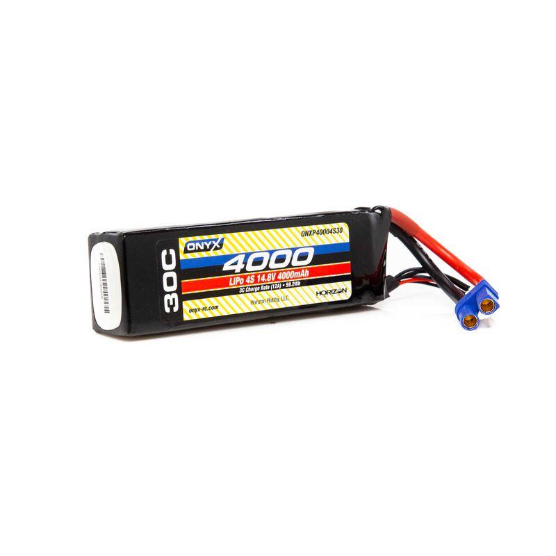 14.8V 4000mAh 4S 30C LiPo Battery: EC5