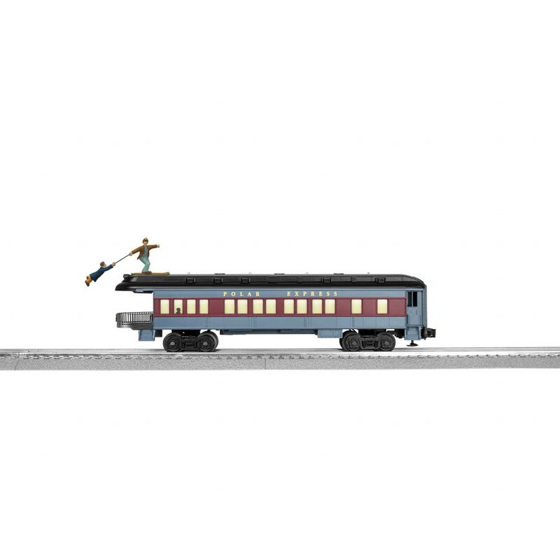 O27 Observation Car The Polar Express Skiing Hobo