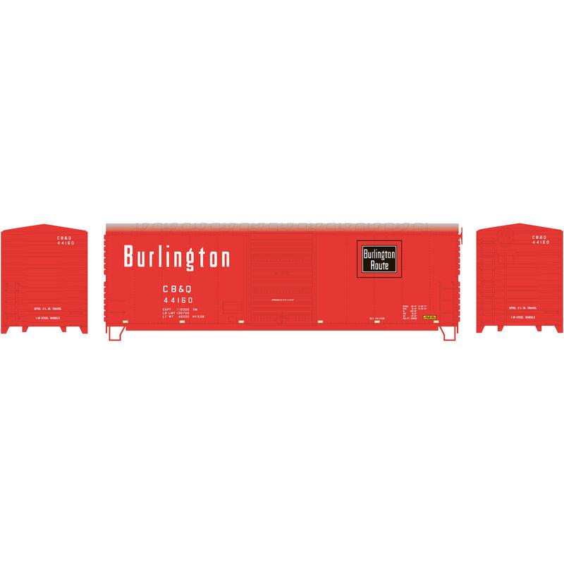 HO RTR 40' Modernized Box CB&Q #44160