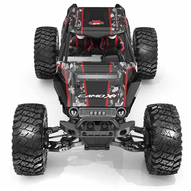 1/10 Scale Camo X4 Pro 4WD Rock Racer Brushless RTR