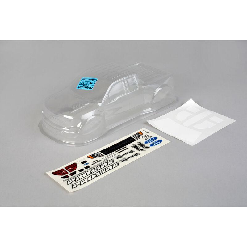 Clear Body, Ford F150 SVT Raptor: 1/16 Revo