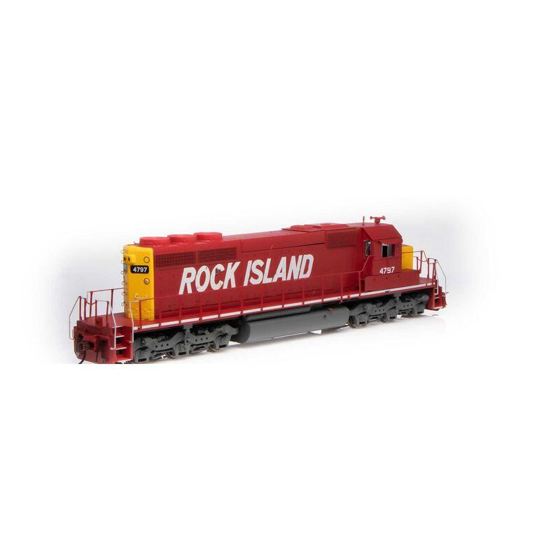 HO RTR SD40-2 w DCC & Sound RI #4797