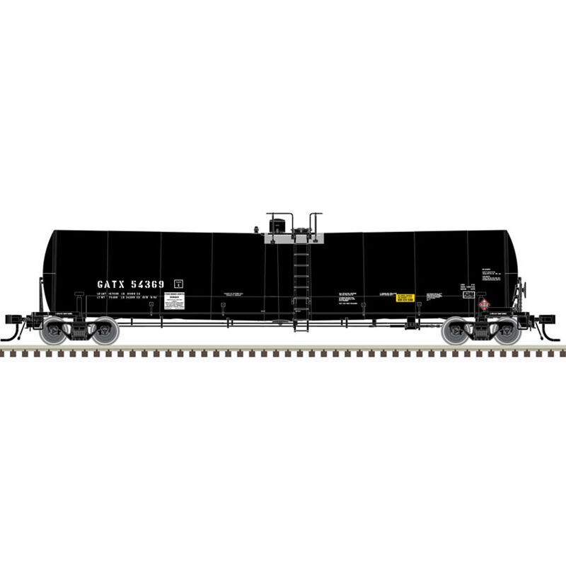 HO 25 000-Gallon Tank GATX #54373