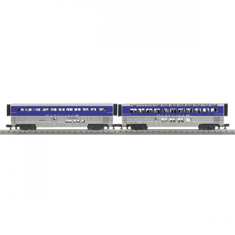 O-31 SuperLiner Set Amtrak Lounge Surfliner #6461