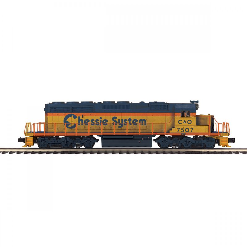 O-27 SD40-2 with PS3 Chessie #7507