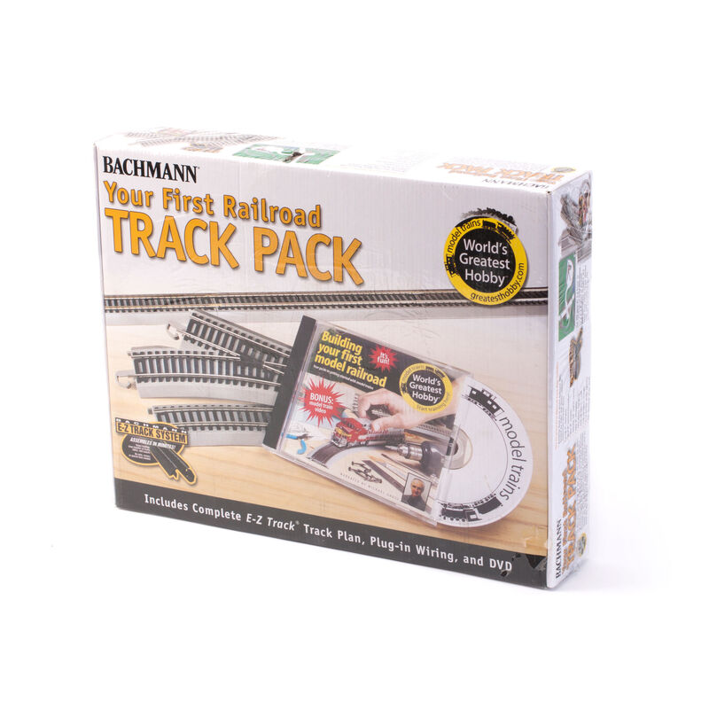 HO NS EZ Your First Railroad Track Pack