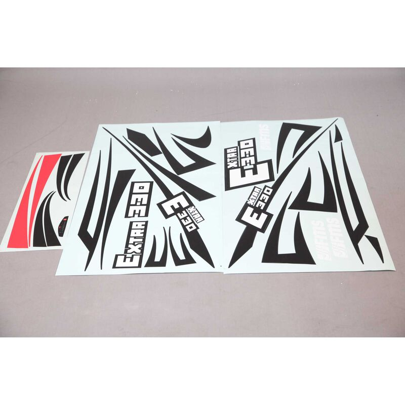 Decal Sheet: Extra 330S EP Aerobatic 2000mm