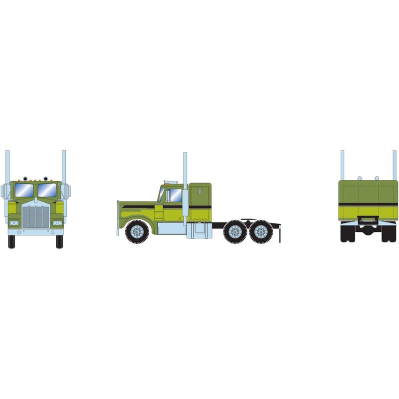 HO RTR KW Tractor Two-Tone Green