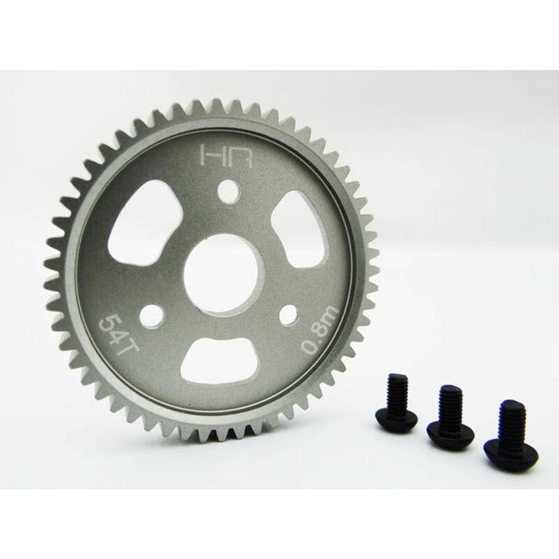 Aluminum Slipper Spur Gear 54T 0.8M 32P:  Traxxas 4X4