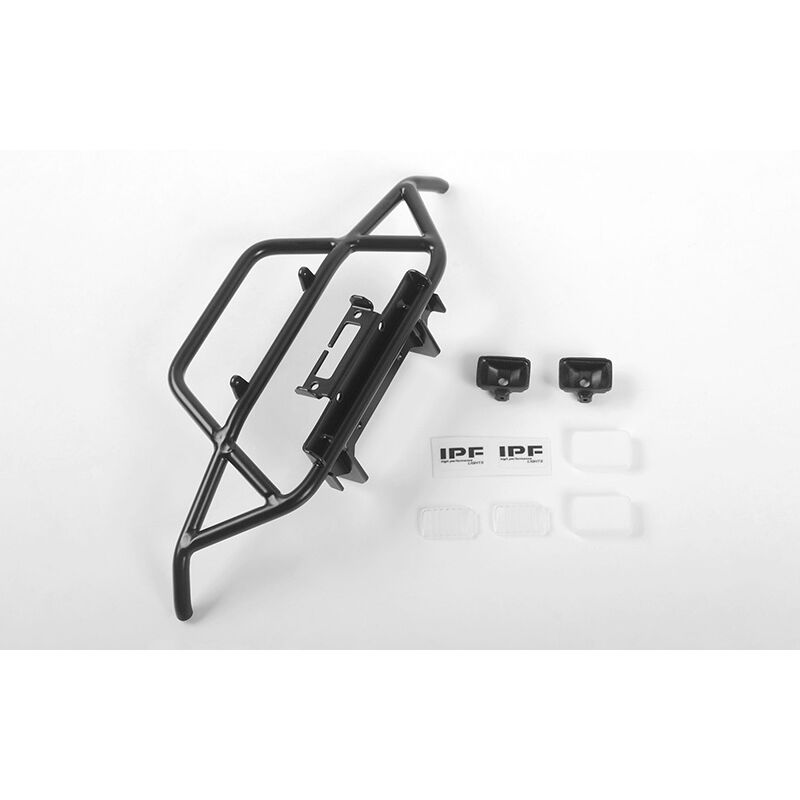 Steel Tube Frnt Bumper with IPF Lights: MST 1/10 CMX with Jimny J3 Body