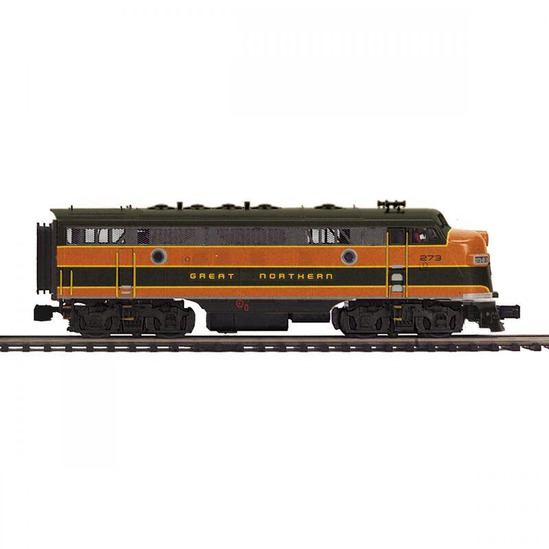 O-27 F7 A Dummy Hi-Rail GN #273A