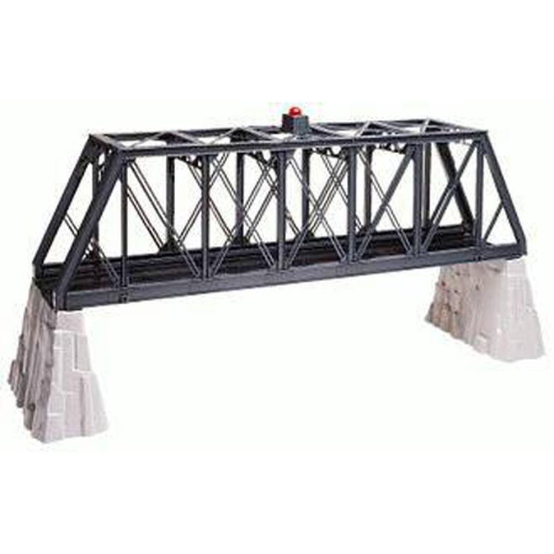 O-27 Truss Bridge with Flasher