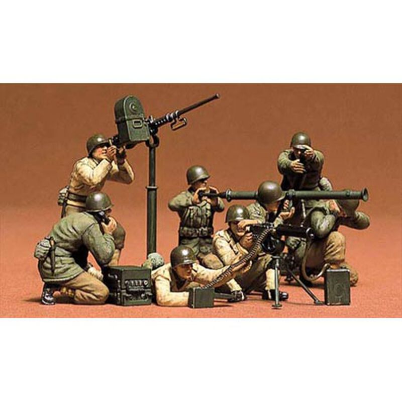 1/35 US Gun & Mortar Team