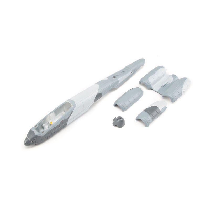 Fuselage with accessories: UMX A-10 BL