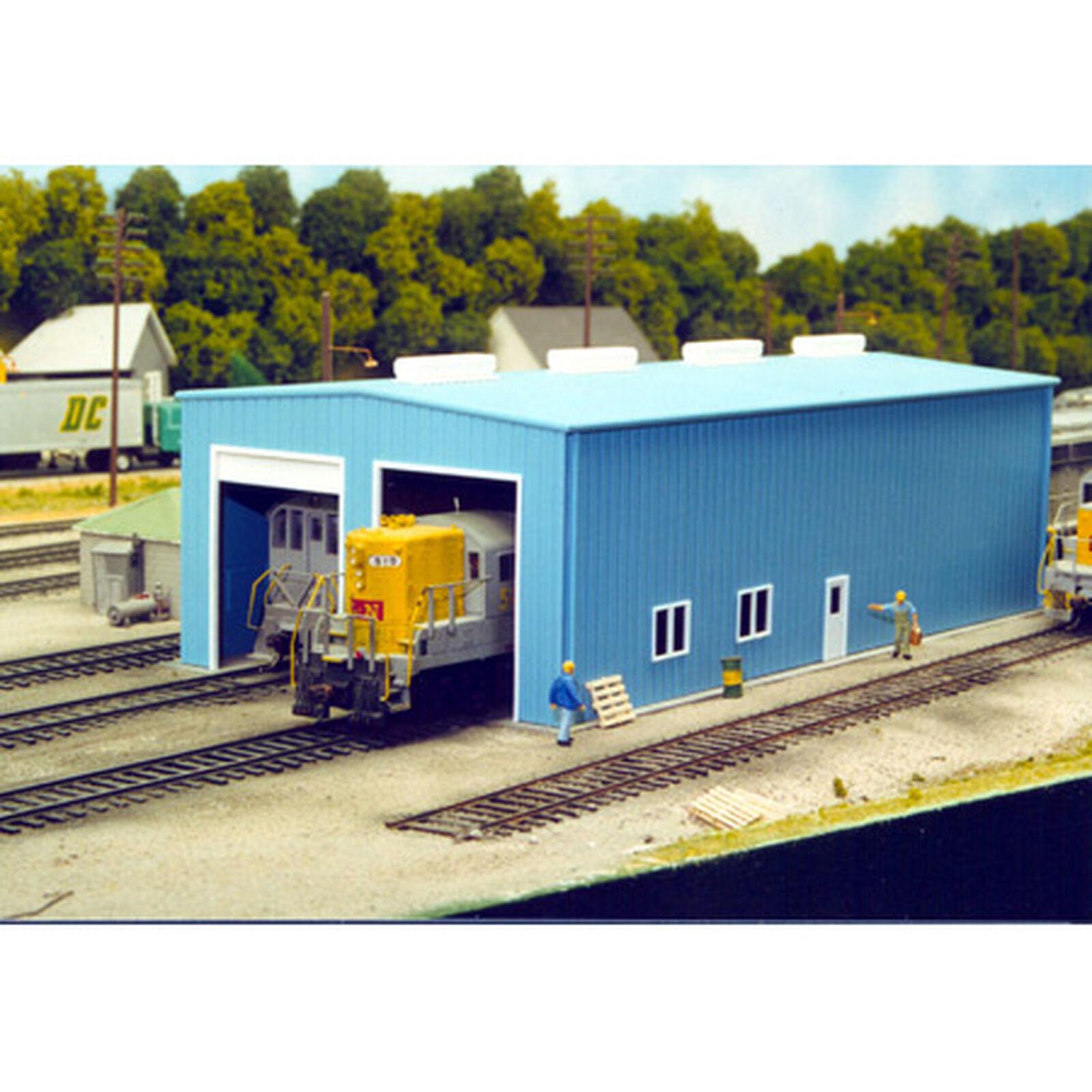 HO KIT Modern Engine House