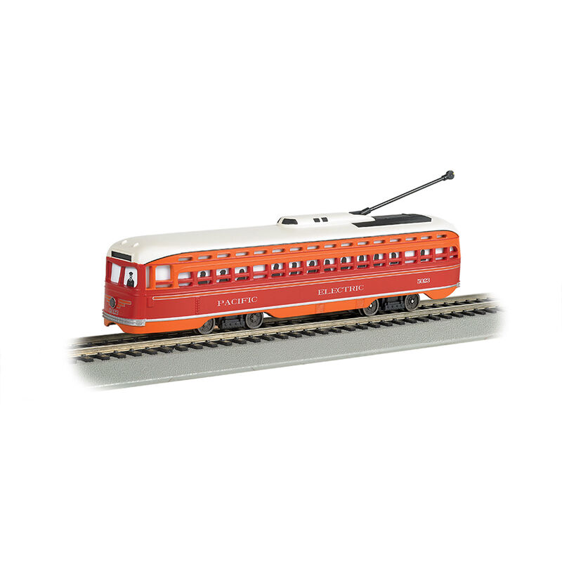 HO Streetcar w DCC &Sound Value Pacific Electric