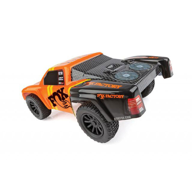 1/28 SC28 2WD SCT Brushed RTR, Fox Edition: Orange