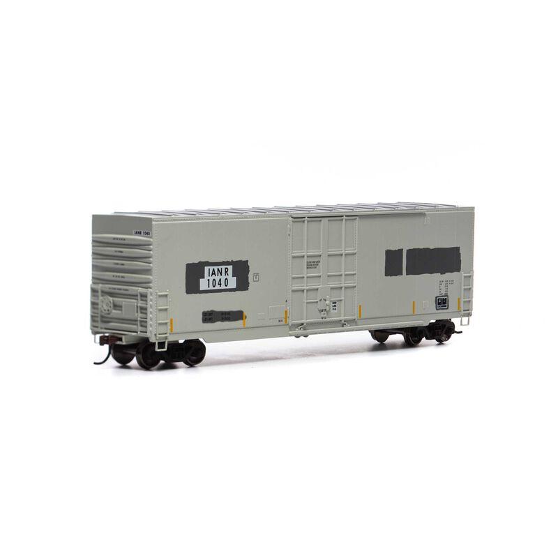 HO 50' Smooth High Cube Plug Door Box, IANR #1040
