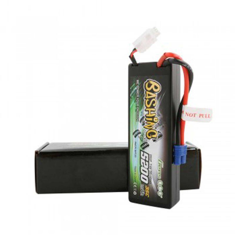 7.4V 5200 Capacity 2S Voltage 35C LiPo, EC3