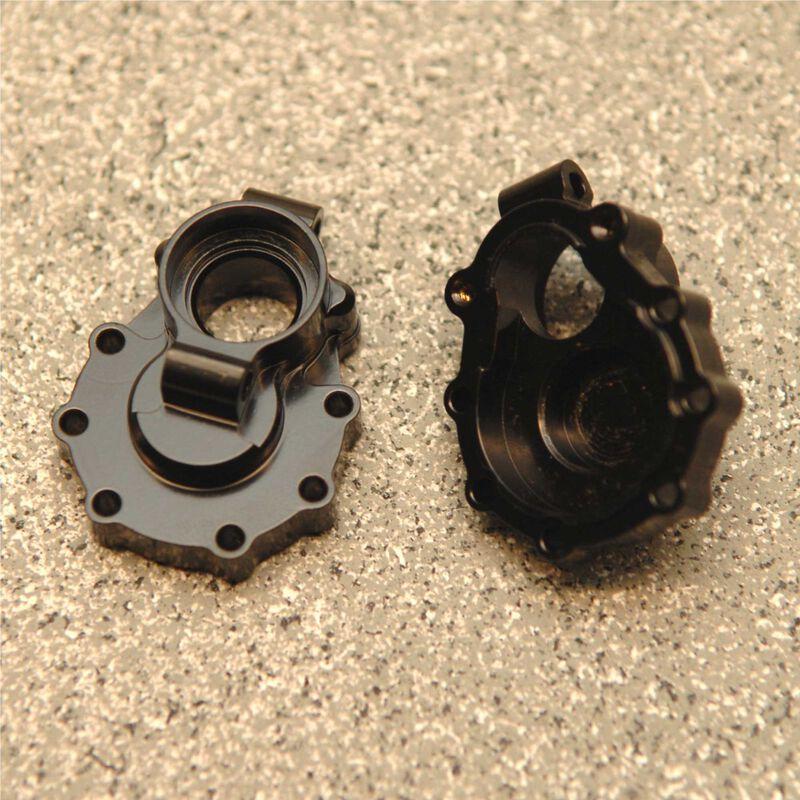 Brass Rear Inner Portal Drive Mount, Black: TRX-4