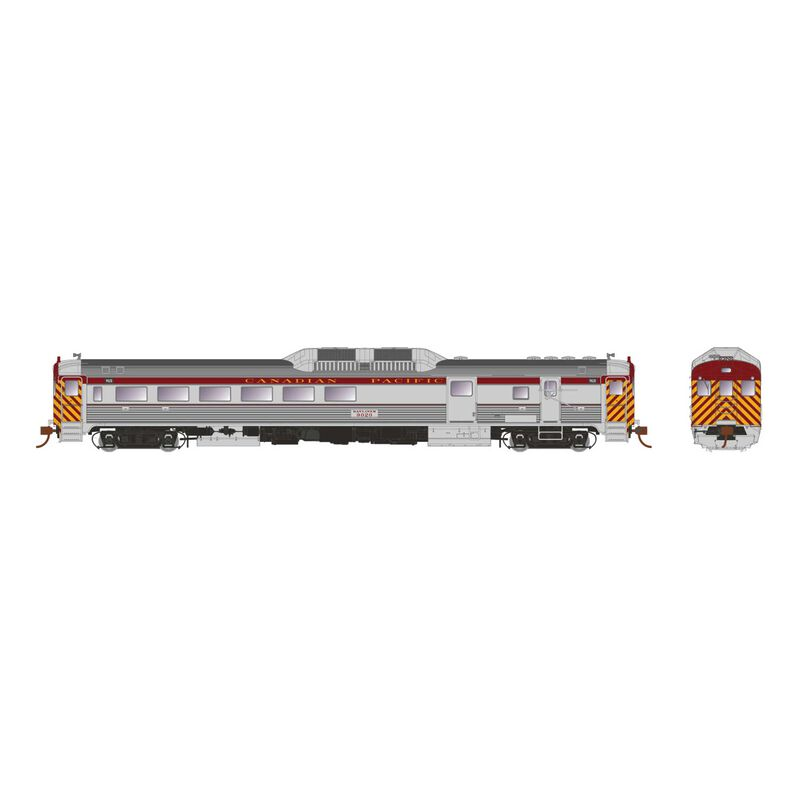 HO Scale RDC-3 (DC Silent), CPR Delivery Ph1c #9022
