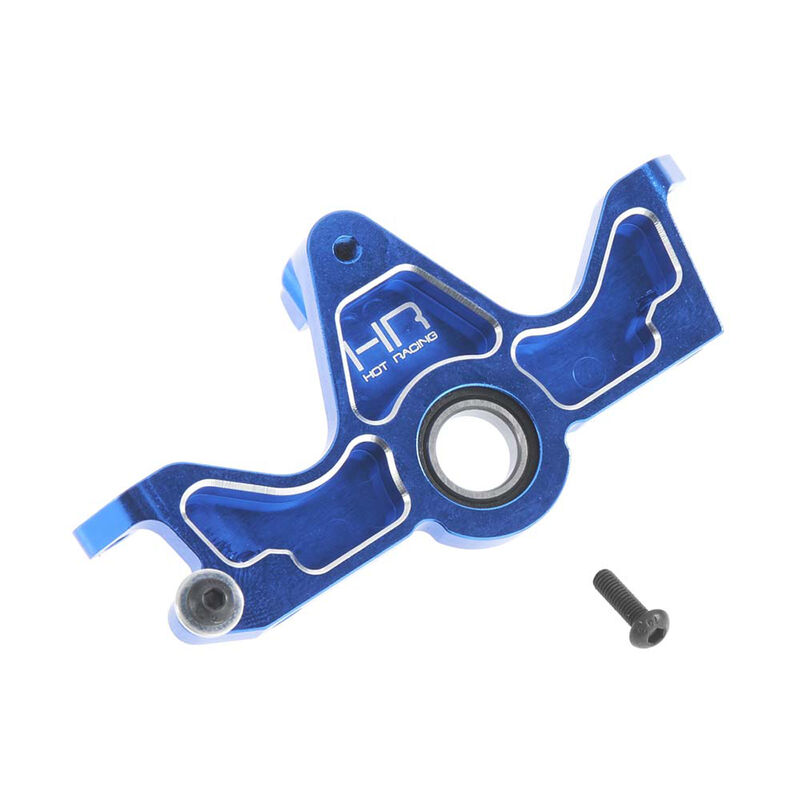 Aluminum HD Bearing Motor Mount SLF, Blue