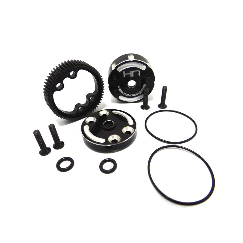 Sealed Aluminum Differential Case: Traxxas 2WD Electric