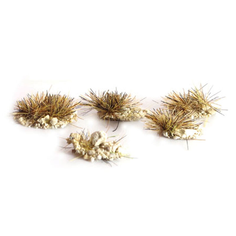 """4mm 3""""16"""" Self Adhesive Sandy Tufts Assorted (100)"""