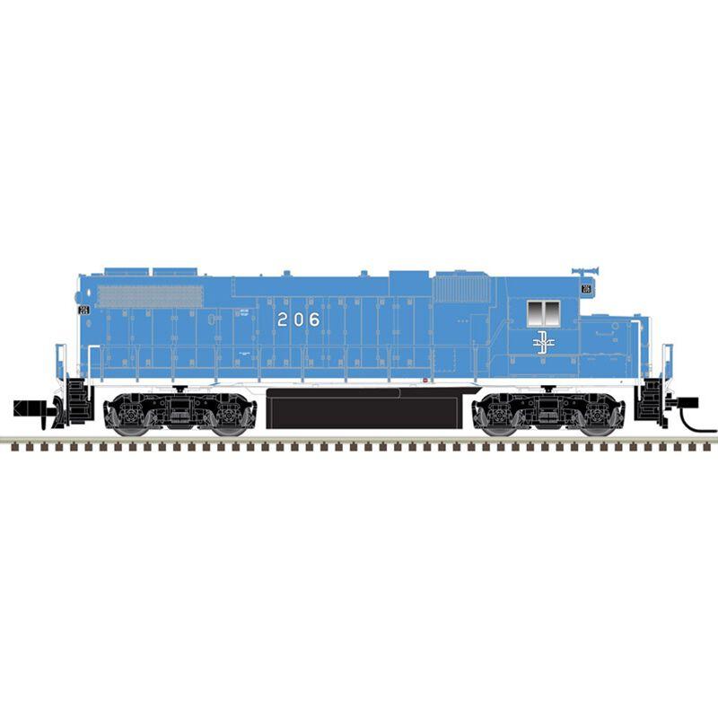 N GP38-2 w DCC B&M #200