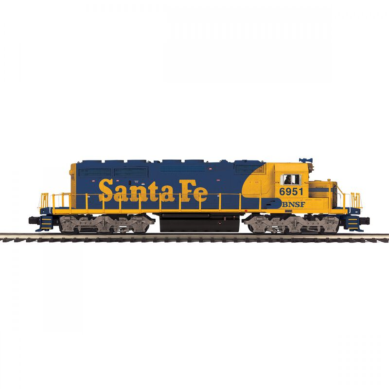 O-27 SD40-2 with PS3 BNSF #6951
