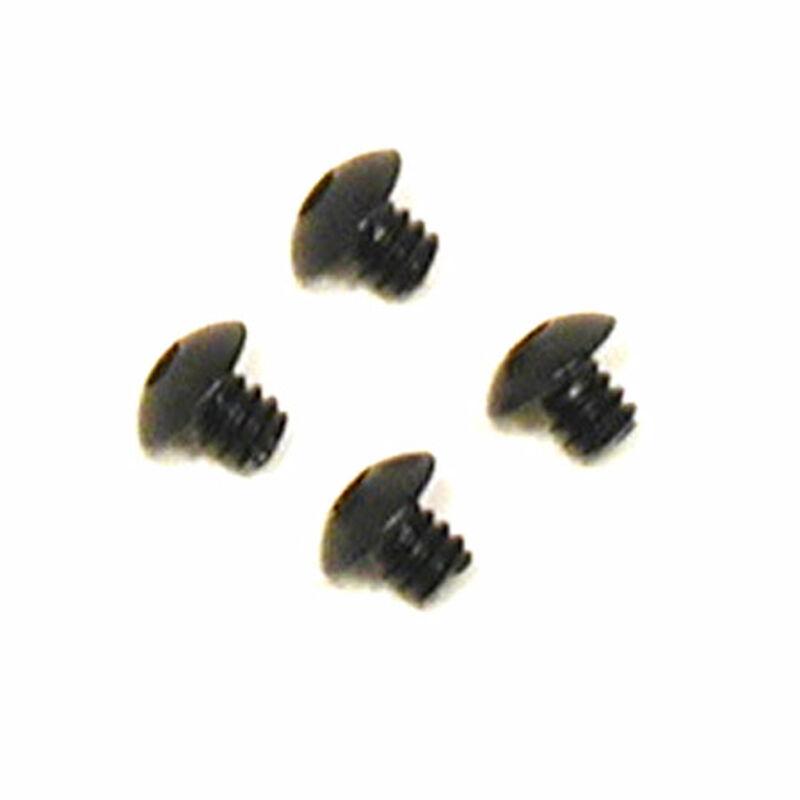 "Button Head Screws, 4-40 x 1/8"" (4)"
