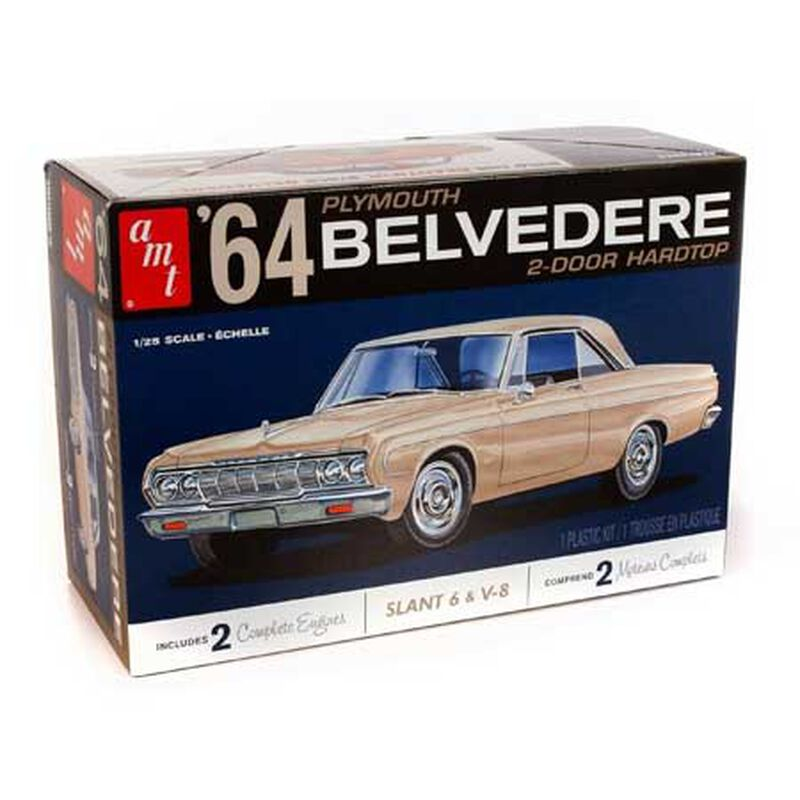 1/25 1964 Plymouth Belvedere with Straight 6 Engine