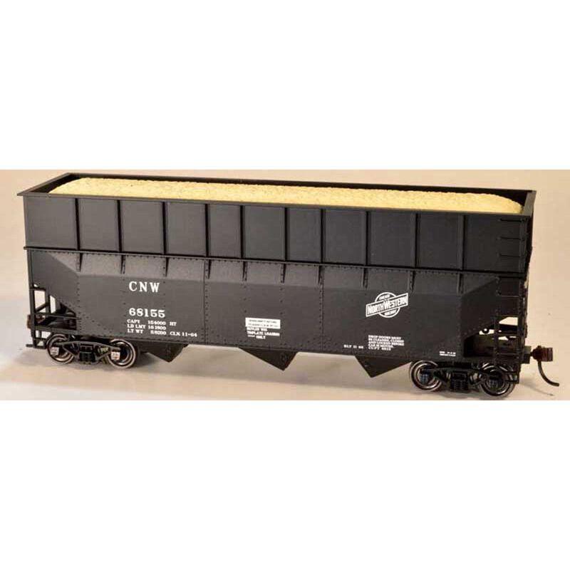70 Ton Wood Chipper Car Ready to Run HO C&NW 68170