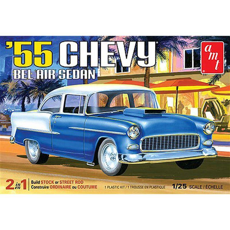 1 25 1955 Chevy Bel Air Sedan