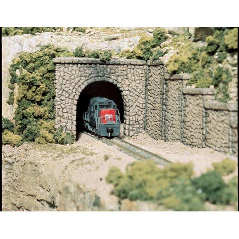HO Single Tunnel Portal, Random Stone