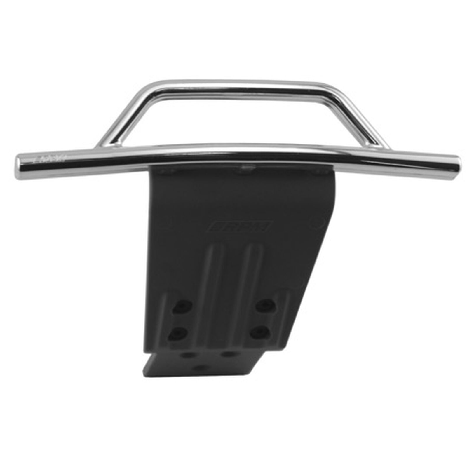 Front Bumper/Skid Plate, Chrome: SLH 4x4