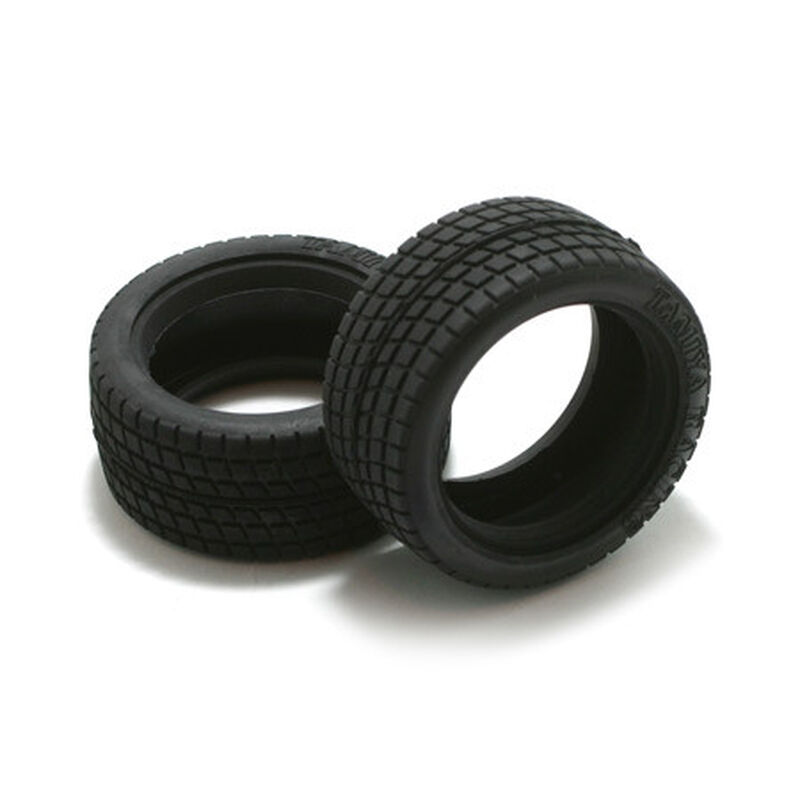 1/10 M-Chassis Radial Front/Rear Tires (2)