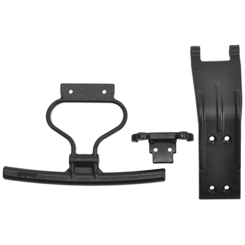 Front Bumper & Skid Plate: Losi Rock Rey
